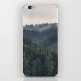 Pacific Northwest Forest - Nature Photography iPhone Skin