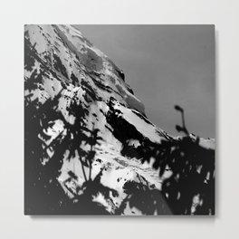 Rainier in Depth Metal Print