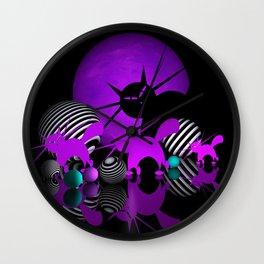 mooncat's evening play Wall Clock