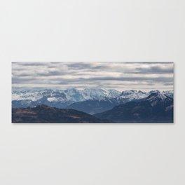 Alpes Canvas Print