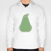 pear Hoodies featuring Pear by Oh! My darlink