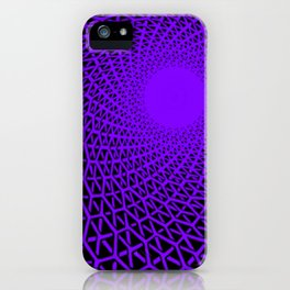 Hexagon immersion iPhone Case