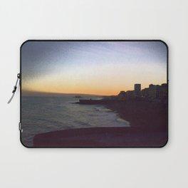 Seafront sunset Laptop Sleeve