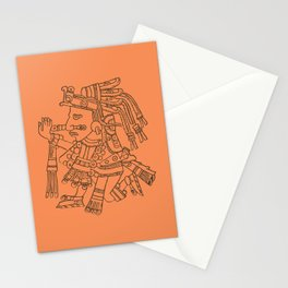 Aztec Warrior Stationery Cards