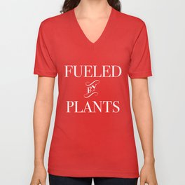 Fueled By Plants Unisex V-Neck
