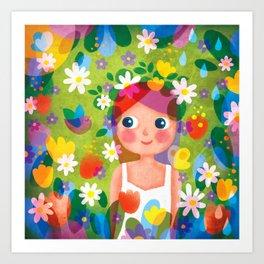 Hello Spring! Art Print