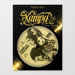 Xampu by Roger Cruz Canvas Print