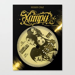 Xampu by Roger Cruz Canvas Print