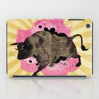 bull iPad Cases featuring Bull by Jean-Michel Lopez