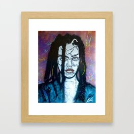 Bad Gal Framed Art Print
