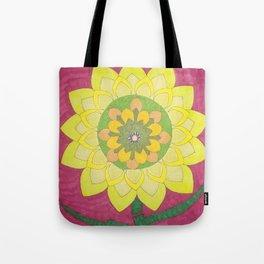 Flower of My Sun Tote Bag