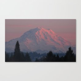 Mountain Blush Canvas Print