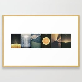 Asimov Book Covers Framed Art Print