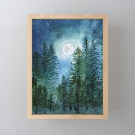 Silent Forest Framed Mini Art Print