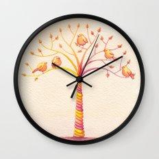 April Tree Wall Clock