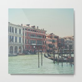 looking along the Grand Canal ... Metal Print