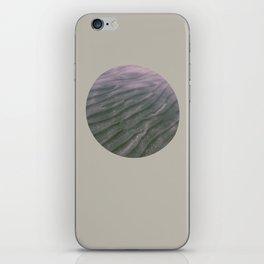 underwater distortions iPhone Skin