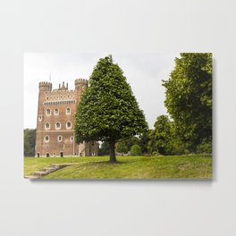 Tattershall Castle Grounds II - Lincolnshire Metal Print