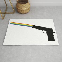 Shooting Rainbows Rug