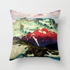Winter in Keiisino Throw Pillow