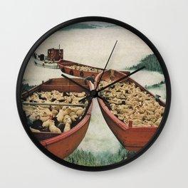 Fleece Wall Clock