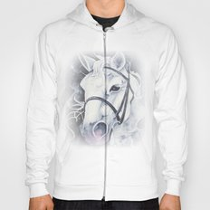 Pale White Horse Hoody