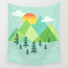 Patchwork Pass Wall Tapestry