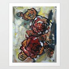 Roses 4423 Art Print