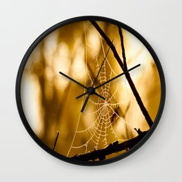 Sunrise Web Wall Clock