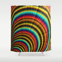 All Around The Rainbow Shower Curtain