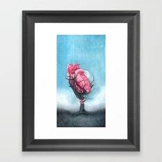 Heart's Apart Framed Art Print