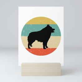 Schipperke Dog Gift design Mini Art Print