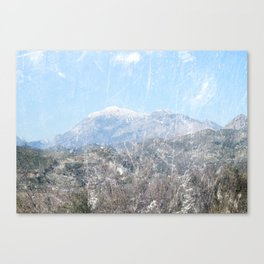 Snow-capped Mountains Canvas Print