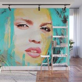 Digital Drawing #44 - Fashion Icon Wall Mural