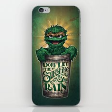 Don't Let The Sunshine Ruin Your Rain iPhone & iPod Skin