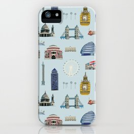 All of London's Landmarks  iPhone Case