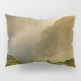 Dawn in Fogo crater Pillow Sham