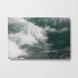 Wave Close Up Photography   Seascape   Ocean Metal Print