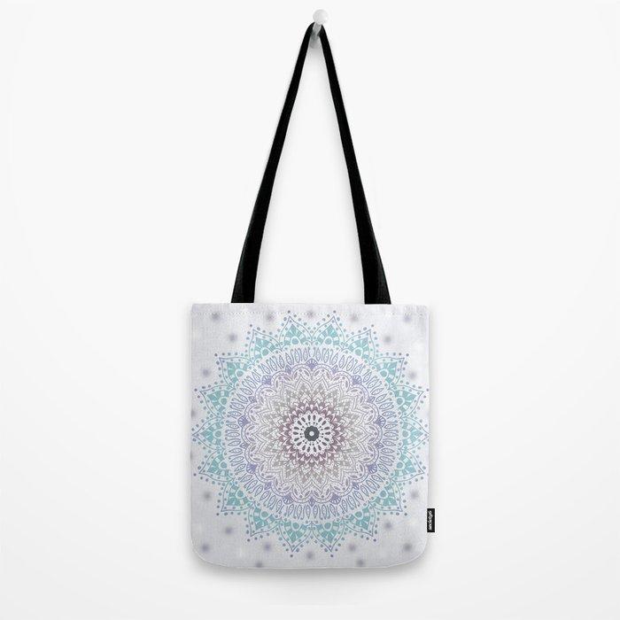BLUE SUMMER MANDALA Tote Bag