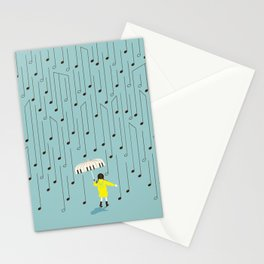 Singing in the Rain v2 Stationery Cards
