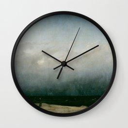Caspar David Friedrich - The Monk by the Sea Wall Clock
