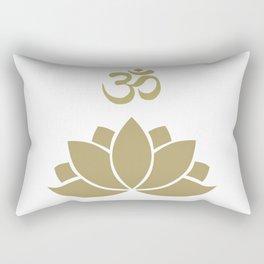 OM Lotus Rectangular Pillow