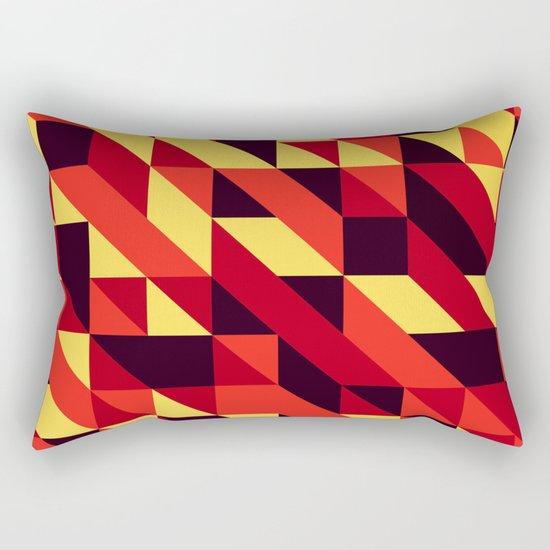 triangle lines Rectangular Pillow