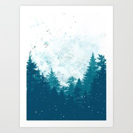 Forest of Imagination Art Print