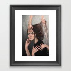 Question Framed Art Print