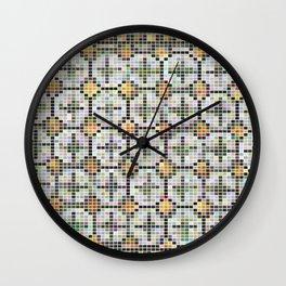 Pixel Art Mosaic #32 Wall Clock
