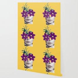 Floral Portrait 2 Wallpaper