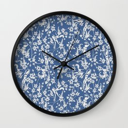 Papercut Garden - Small Wall Clock