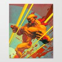berserk Canvas Prints featuring Berserk by Pascal Blanché