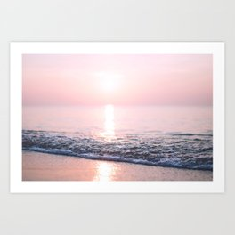Ocean Morning #2 Art Print